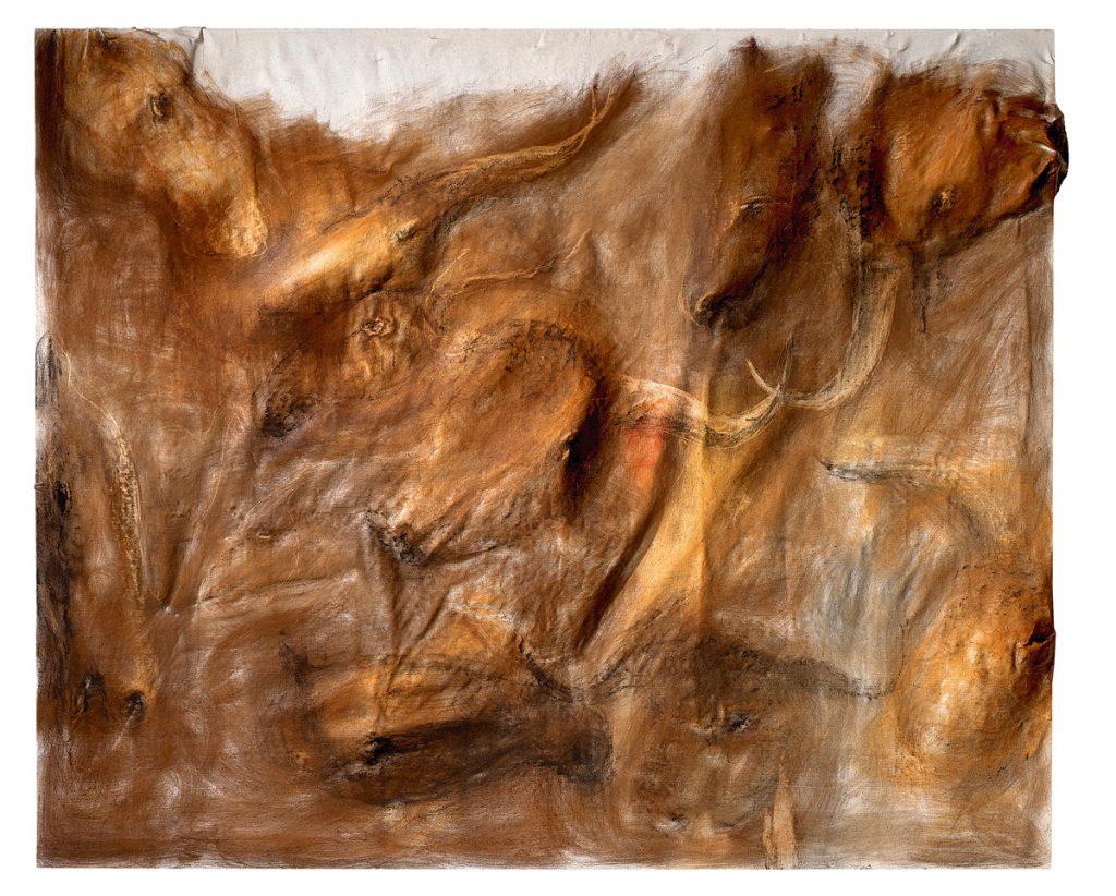 pintura en relieve, Miquel Barceló